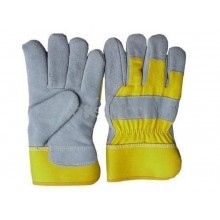 Leather Work Gloves - 12 Pairs