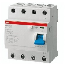 Earth Leakage Circuit Breaker - 100Amps - 4 Poles