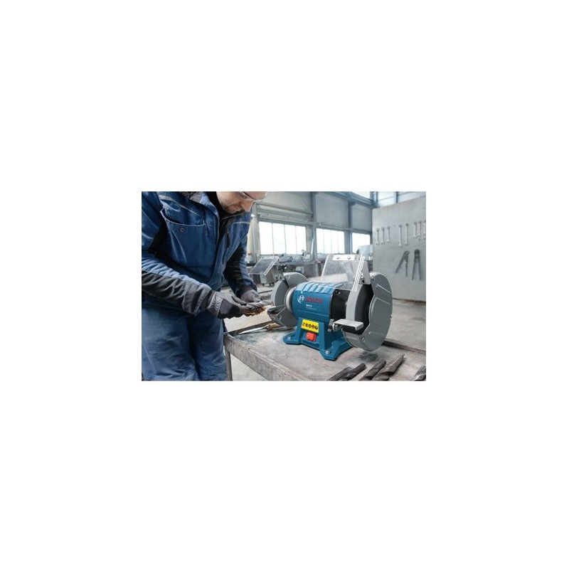 Double Wheeled Bench Grinder Bosch Gbg 8 Professional