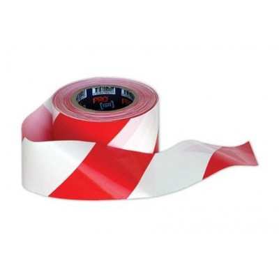 Caution Tape - White \u0026 Red - Promong