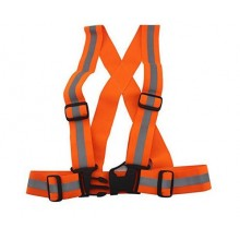 Elastic Reflective Belt - Orange
