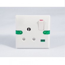 15 Amps Flush Socket