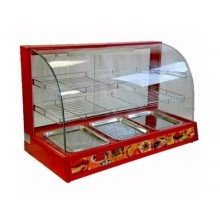 Snacks Warmer Display Showcase