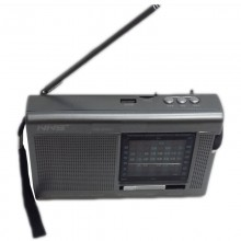 Rechargeable World Band Radio With USB/TF - NS-033U
