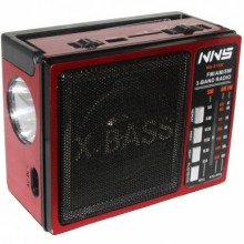 Rechargeable World Band Radio With USB/TF/SD - NS-215U