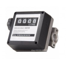 1 inch 4 Digital Petrol Diesel Fuel Oil Turbine Flow Meter