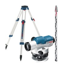 BOSCH GOL 20D + BT160 + GR500 OPTICAL LEVEL SET